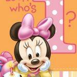 Adorable Disney Minnie Mouse Invitation 150x150