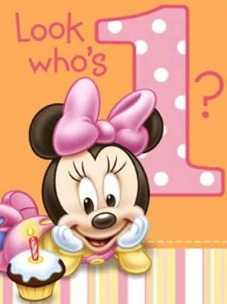 Adorable Disney Minnie Mouse Invitation
