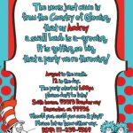 Cute Dr. Seuss Shower Invitation 150x150