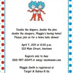 Dr. Seuss Baby Shower Invitation template 150x150