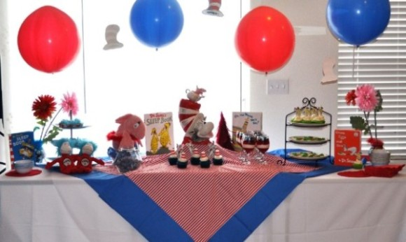 Dr. Seuss Baby Shower Party