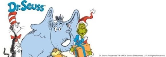 Dr. Seuss Invitation Template 580x200