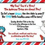 Dr. Seuss Sample for Baby Shower Invitation 150x150
