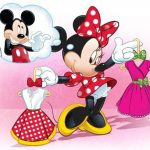 Mickey and Minnie Mouse Invitation 150x150