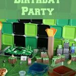 Minecraft Birthday Invitation 150x150
