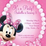 Sample of Minnie Mouse Party Invitations 150x150