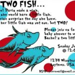 Two Fish Twins Dr. Seuss Baby Shower Invitation 150x150