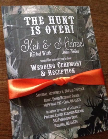 Wedding Ceremony Invitation