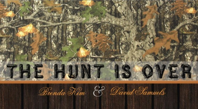Mossy Oak Camo Wedding Invitation Invitations Online - Wedding invitation templates: camo wedding invitations templates