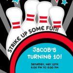 Bowling Invitation Sample 150x150
