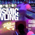 Cosmic Glow Bowling Invitation Sample 150x150