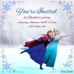 Disney Frozen Invitation 150x150