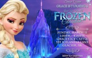 Frozen Birthday Party Invitation 191x120