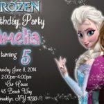 Frozen Birthday Party Invite 150x150