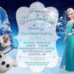 Frozen Party Invitation Sample 150x150