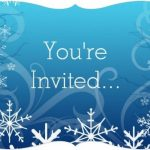 Frozen You Are Invited Invitation template 150x150