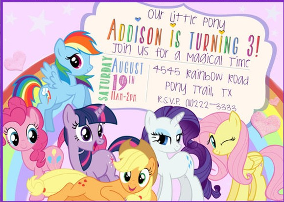 MLP Invitation Sample