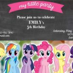 MLP birthday party invitation 150x150