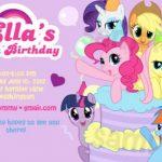 My Little Pony Girls Invitation 150x150