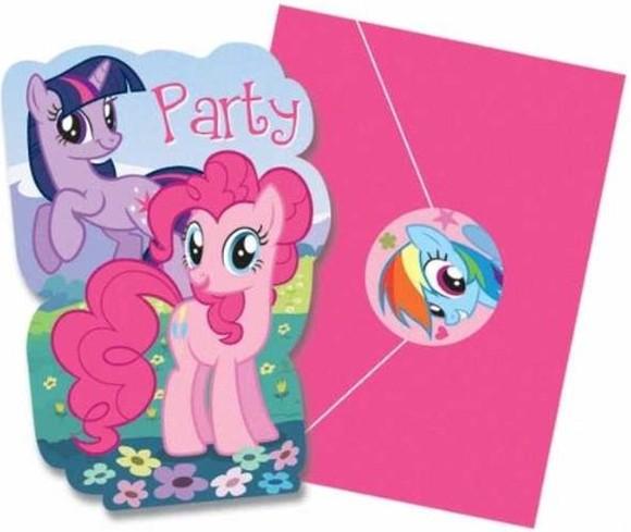 My Little Pony invite sample