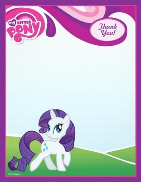 My Little Pony Free Invitation Sample 150x150