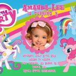 My little pony party invitation sample 150x150