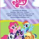 My little pony sample invitation 150x150