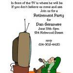 Funny retirement invitation 150x150