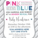 Gender Reveal Party Invitation 150x150