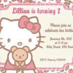 Hello Kitty Birthday Invitation 150x150