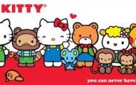 Hello Kitty Party Invitation 191x120