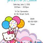 Hello Kitty Party Invitation Sample 150x150