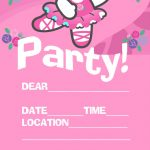 Hello Kitty Template for Party Invitations 150x150