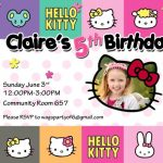 Hello Kitty and friends Birthday Party Invitation 150x150