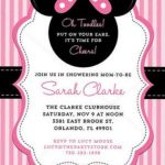 Minnie Mouse Baby Shower Invitation on Etsy 150x150