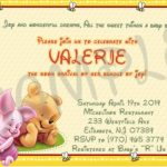 Winnie the Pooh Baby Shower Invitation Etsy Sample 150x150