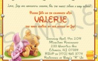 Winnie the Pooh Baby Shower Invitation Etsy Sample 191x120