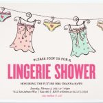 lingerie shower party invitation sample 150x150