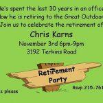retirement party invite 150x150