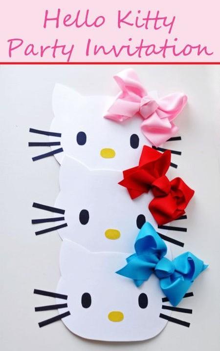 hello kitty party invitation - Hello Kitty Party Invitations