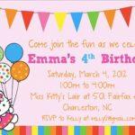 Hello Kitty invitation card 150x150