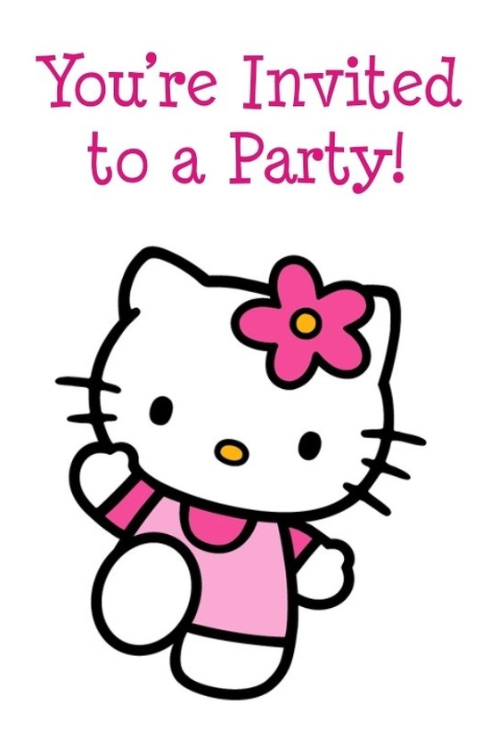Hello kitty invitation card sample invitations online hello kitty invitation card sample stopboris Images