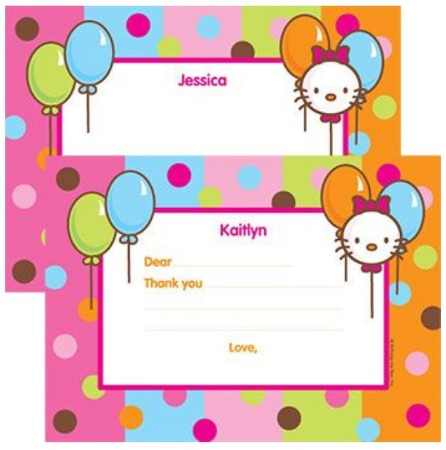 Hello kitty invitation card template invitations online hello kitty invitation card template stopboris Image collections
