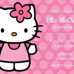 Hello Kitty invitation sample 150x150