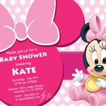 Minnie Mouse shower Invitation 150x150