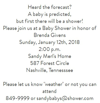 shower invitation wording 2