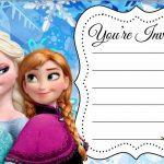 Disney Frozen Birthday Party Invitation Free Printable 150x150