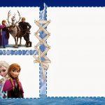 Free Printable Disney Frozen Invitation 150x150
