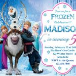Frozen Birthday Party Invitation Example 150x150