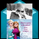 Frozen Birthday Party Personalized Invitation Sample 150x150